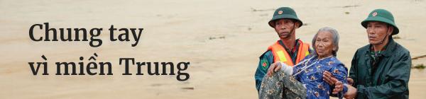 Quỹ Hy vọng - VnExpress kêu gọi chung tay vì miền Trung