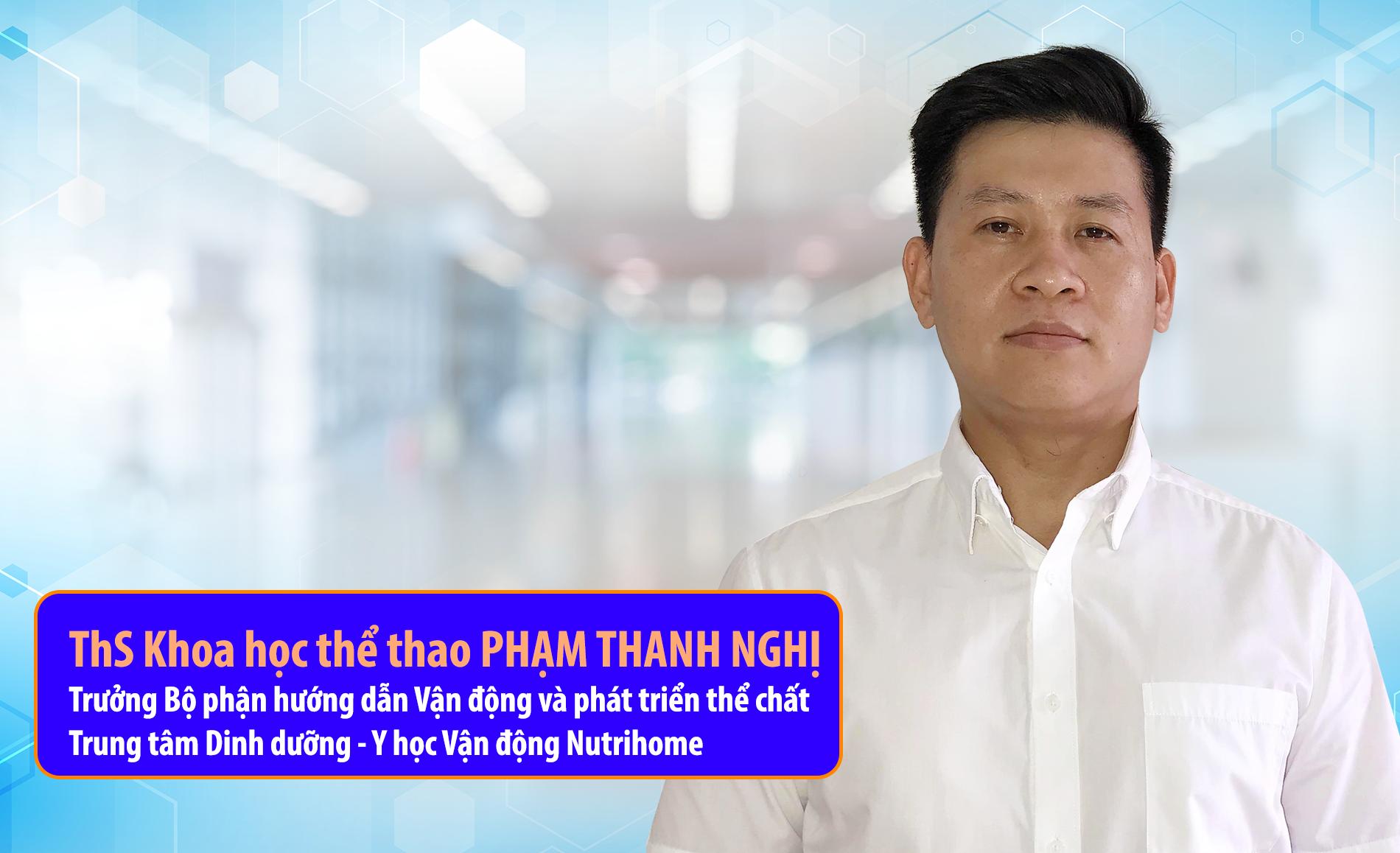 Thạc sĩ Khoa học thể thao Phạm Thanh Nghị